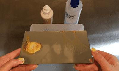 アムウェイ,洗剤,デモ,食器用洗剤,実験,デモンストレーション
